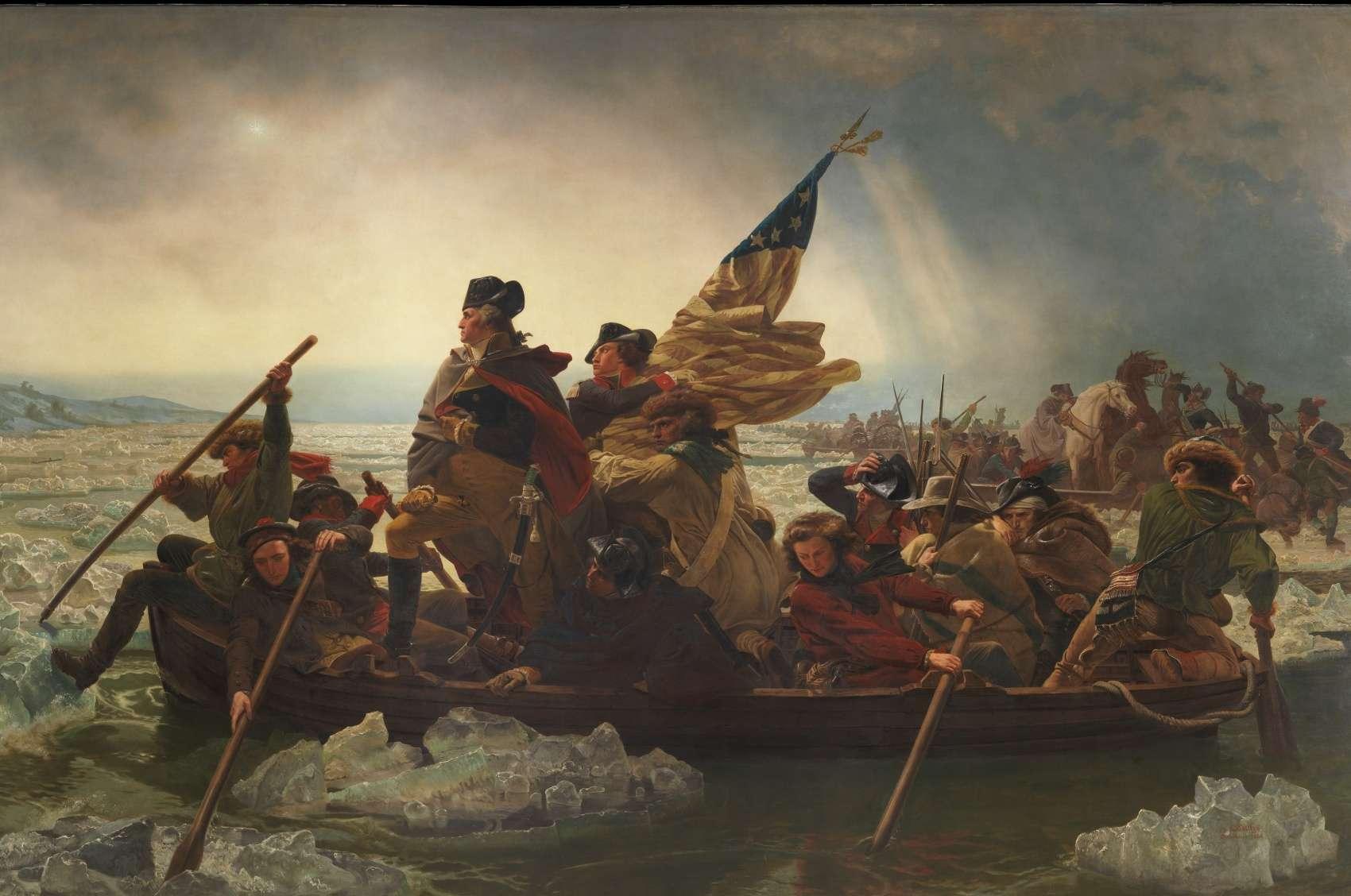 American revolutionary war at american art gallery